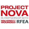 Project Nova in partnership with Walking With The Wounded